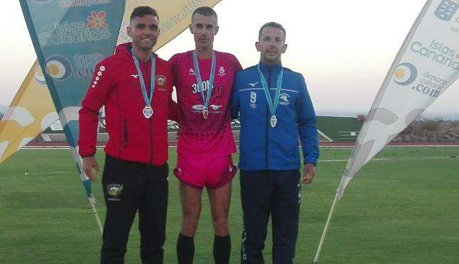 Dos medallas de plata en el regional de pista al aire libre